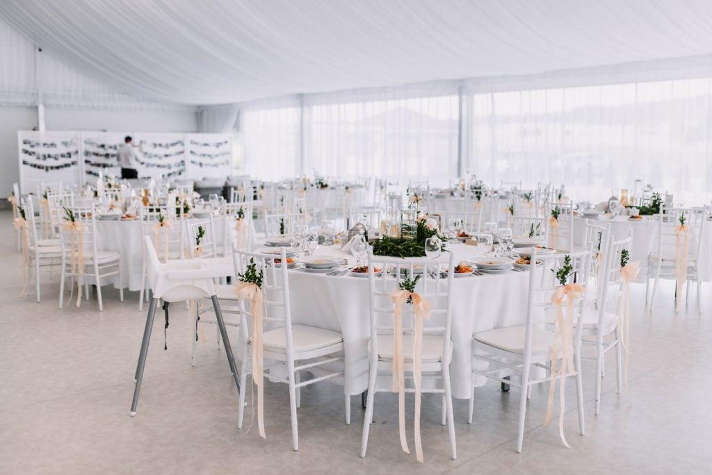 Dziedzic Pakoszówka - wesele w namiocie